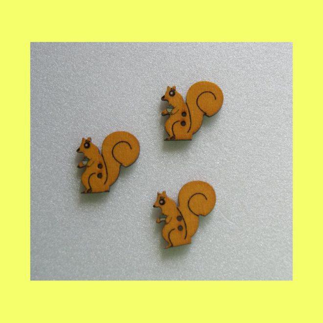 Eichhörnchenknöpfe gelb